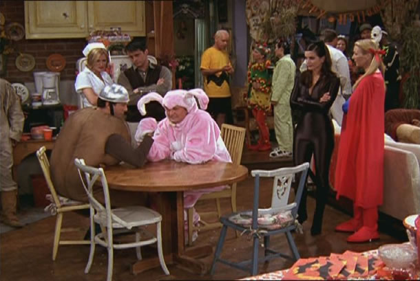 Friends – The One with the Halloween Party