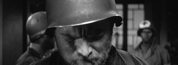 Gene Evans in The Steel Helmet